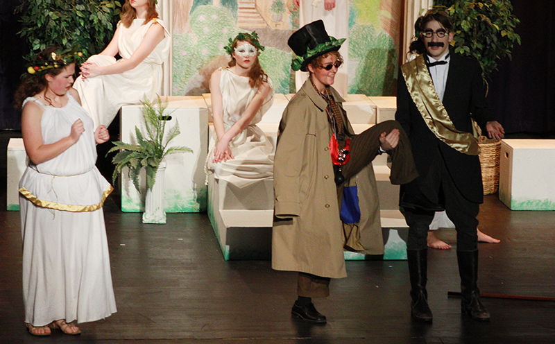 Wayne One Act Play Channels Their Inner Marx Brothers Wayne America